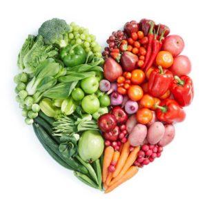 O consumo de alimentos de origem vegetal