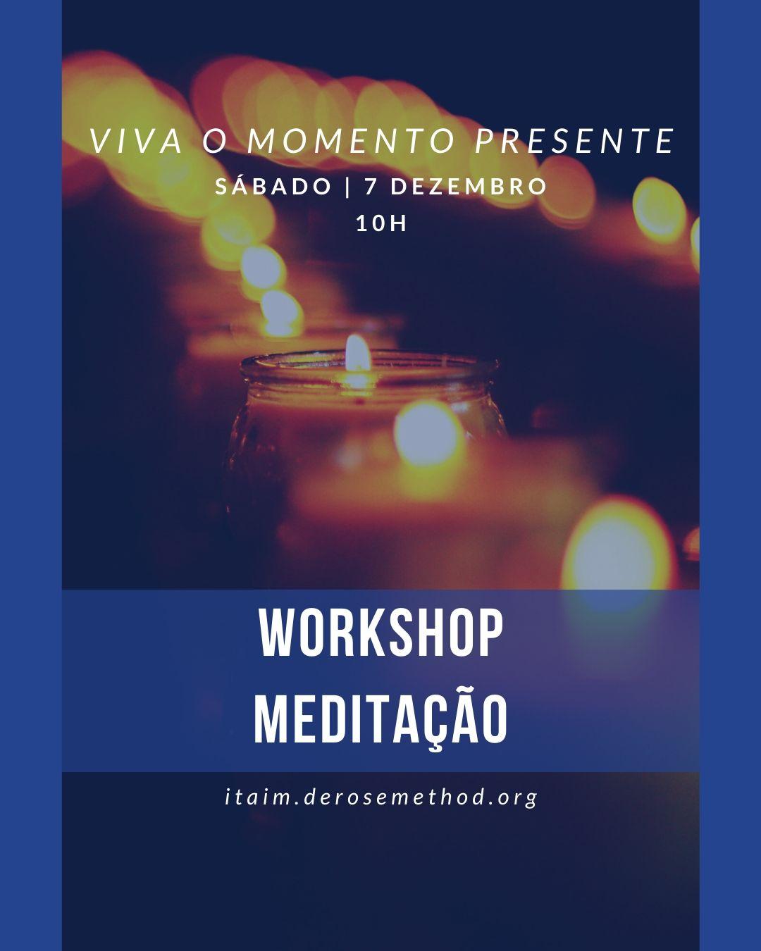 Workshop meditação